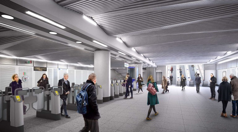 05 Liverpool Street station - proposed ticket hall at Broadgate_236012